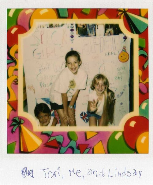 My 11th birthday in Virginia. Spice Girls themed, of course!